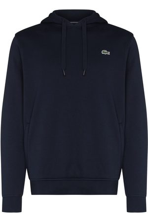 Lacoste Logo-patch drawstring hoodie