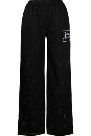 McQ Patch-detail wide-leg trousers