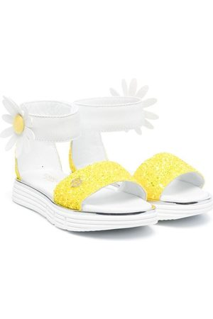 Florens Girls Sandals - 3d floral detail sandals