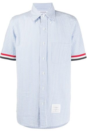 Thom Browne Striped short sleeve shirt