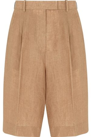 Fendi Women Bermudas - Tailored Bermuda shorts