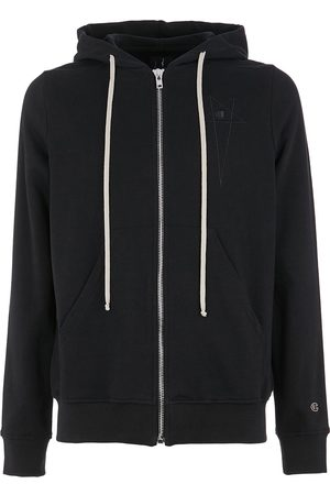 Rick Owens X Champion star-embroidered hoodie