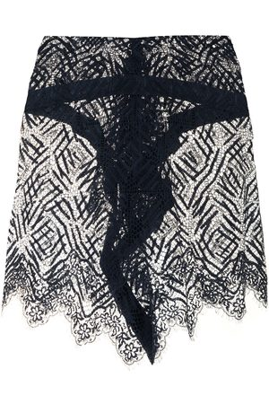 Michelle Mason Women Mini Skirts - Lace mini skirt