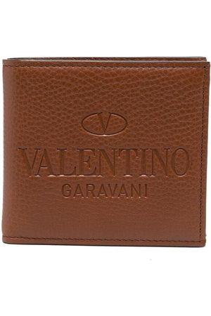 VALENTINO GARAVANI Logo-debossed cardholder
