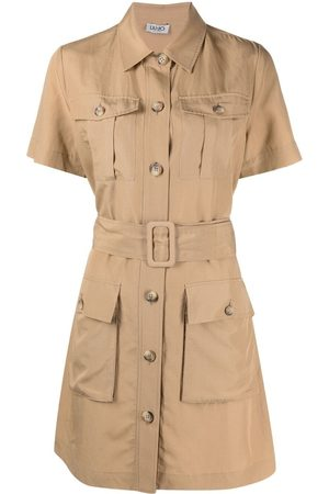 Liu Jo Belted shirt dress