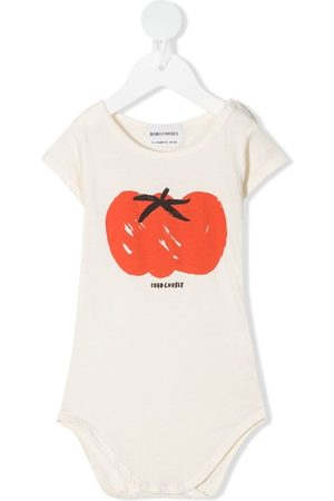 Bobo Choses Baby Rompers - Pepper print bodie