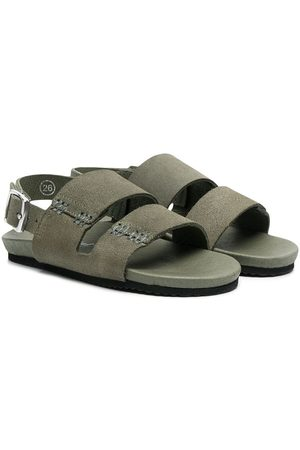 BONPOINT Suede flat sandals