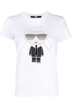 Karl Lagerfeld Ikonik graphic-print T-shirt