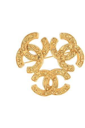 CHANEL 1994 Triple CC logo brooch