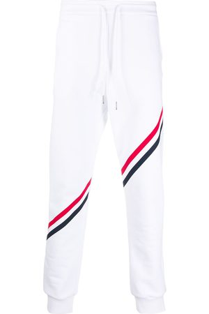 Thom Browne RWB diagonal stripe sweatpants