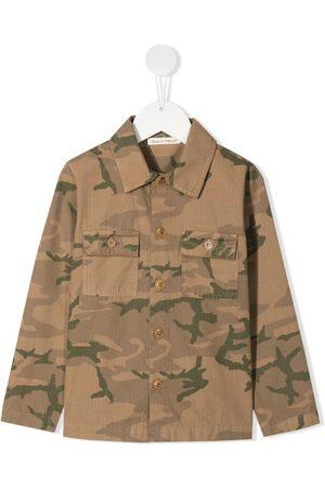 Zhoe & Tobiah Camouflage-print shirt jacket