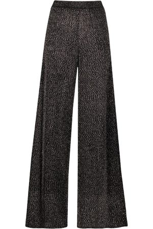 Missoni Glittered wide-leg trousers