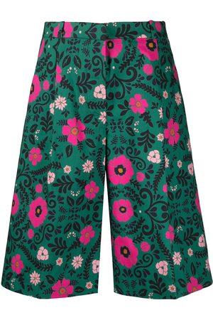 La DoubleJ Floral-print Bermuda shorts