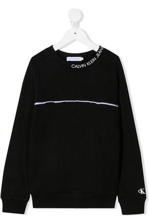 Calvin Klein Logo-trim sweatshirt