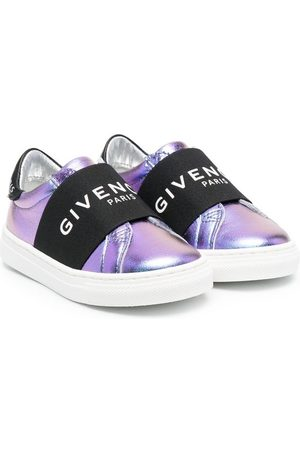 Givenchy Elasticated-strap logo sneakers