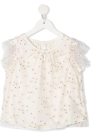 BONPOINT Floral embroidered blouse