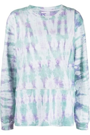 JOHN ELLIOTT Tie-dye print long-sleeved T-Shirt