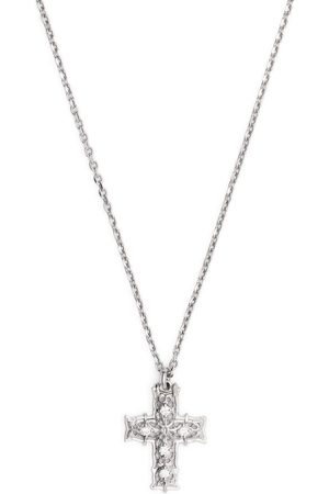 EMANUELE BICOCCHI Diamond cross pendant necklace