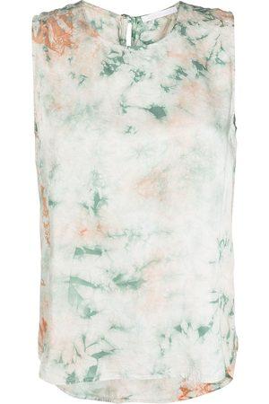 JOHN ELLIOTT Tie-dye muscle T-shirt