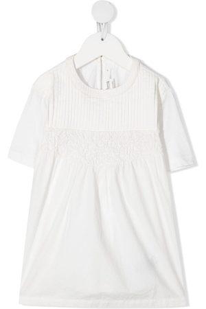 BONPOINT Pleat-detail jersey dress