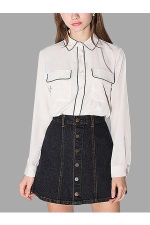 YOINS Women Blouses - Sweet Doll Collar Shirt