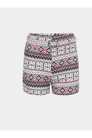 YOINS Culotte Shorts In Festival Print With Belt