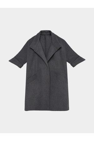 YOINS 1/2 Sleeve Fleece Trench Coat
