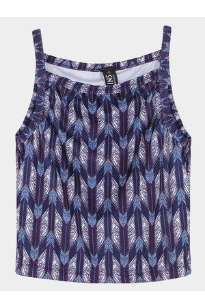 YOINS Aztec Print Cami Crop Top