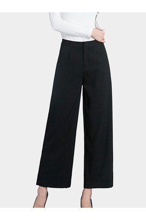 YOINS Fashion Side Pockets Palazzo Pants in