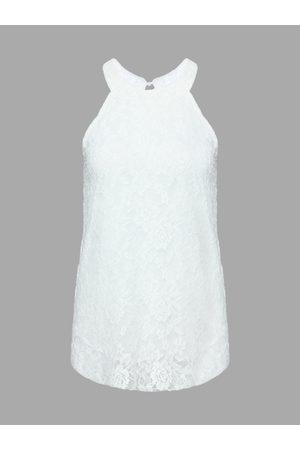 YOINS Lace Vest With Halter Neck