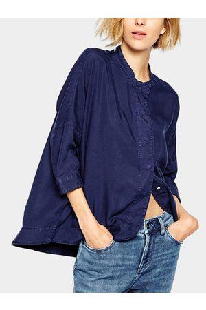 YOINS Loose Casual 3/4 Length Sleeves Buttons design Shirt