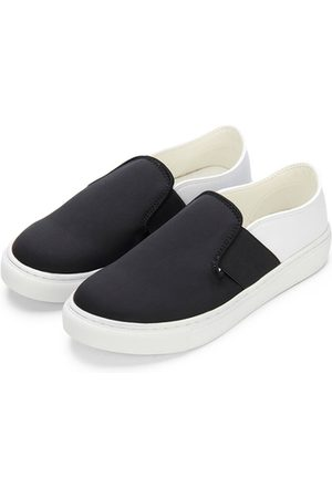 YOINS Double Color Causal Style Slip-on Loafers