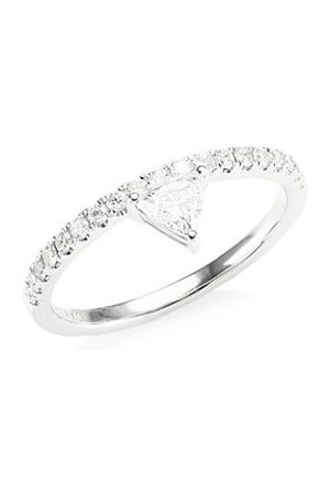 Anita Ko Diamond Triangle Ring