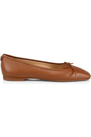 Jimmy Choo Shay Leather Ballet Flats
