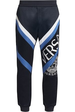 VERSACE Split Logo Sweatpants
