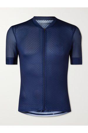 Cafe du Cycliste Men Sportswear - Micheline Mesh-Panelled Cycling Jersey