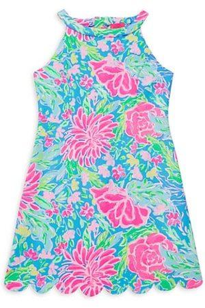 Lilly Pulitzer Girls Printed Dresses - Girl's Sophelia Print Halter Shift Dress
