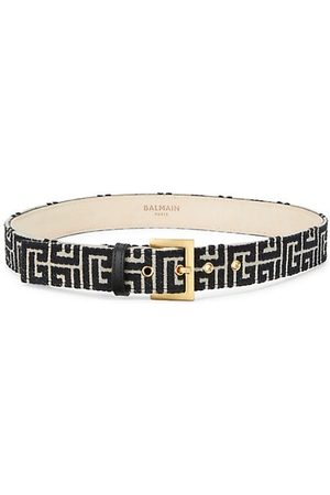 Balmain Belts - Classic Monogram Belt