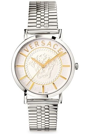 VERSACE V Essential Stainless Steel Bracelet Watch