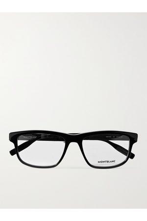 Mont Blanc Men Sunglasses - Rectangular-Frame Acetate Optical Glasses