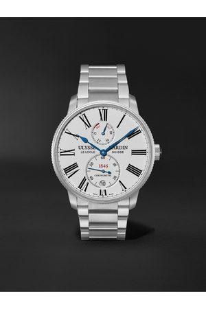 Ulysse Nardin Men Watches - Marine Torpilleur Automatic 42mm Stainless Steel Watch, Ref. No. 1183-310-7M/40