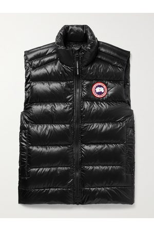 Canada Goose Men Gilets - Crofton Slim-Fit Quilted Recycled Nylon-Ripstop Down Gilet