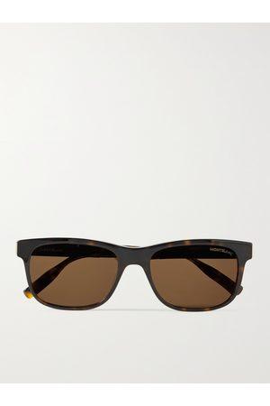 Mont Blanc D-Frame Acetate Sunglasses