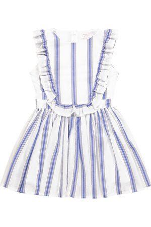 Morley Girls Dresses - Flamenco striped cotton dress
