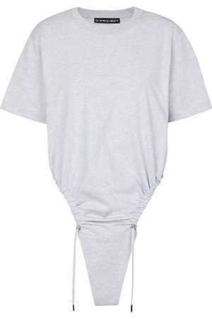 Y/PROJECT Drawstring cotton T-shirt
