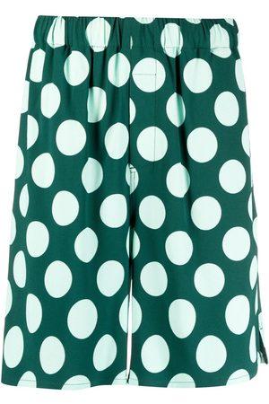 Ami Polka dot Bermuda shorts