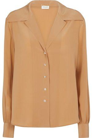 Saint Laurent Silk crêpe de chine shirt