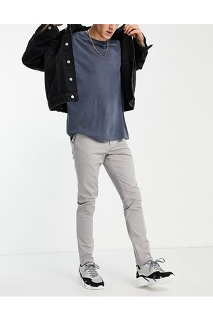 New Look Men Chinos - Skinny chino trousers in light