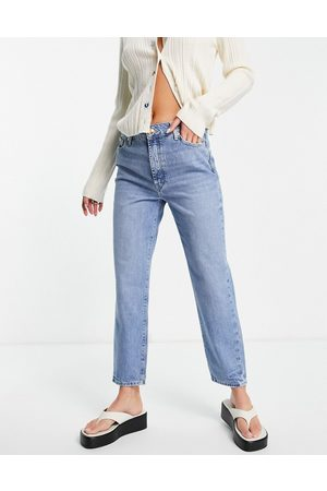 River Island Blair straight cut jeans in buzzy