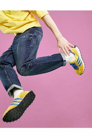 ASOS Straight crop jeans in dark Japanese wash